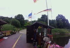 Wahmbeck ferry (2) #cycling #fisheye