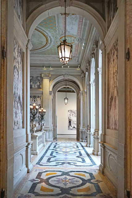 Le premier étage du Palazzo Grassi (Venise)
