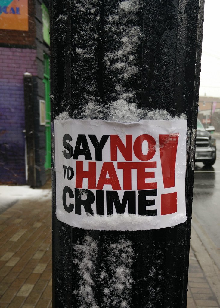 Say No to Hate Crime! | Mike Gifford | Flickr
