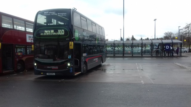 National Express West Midlands 6714 (PN)