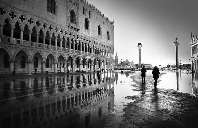 Venezia in bn