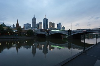 Princes Bridge over the Yarra | by Joe Lewit