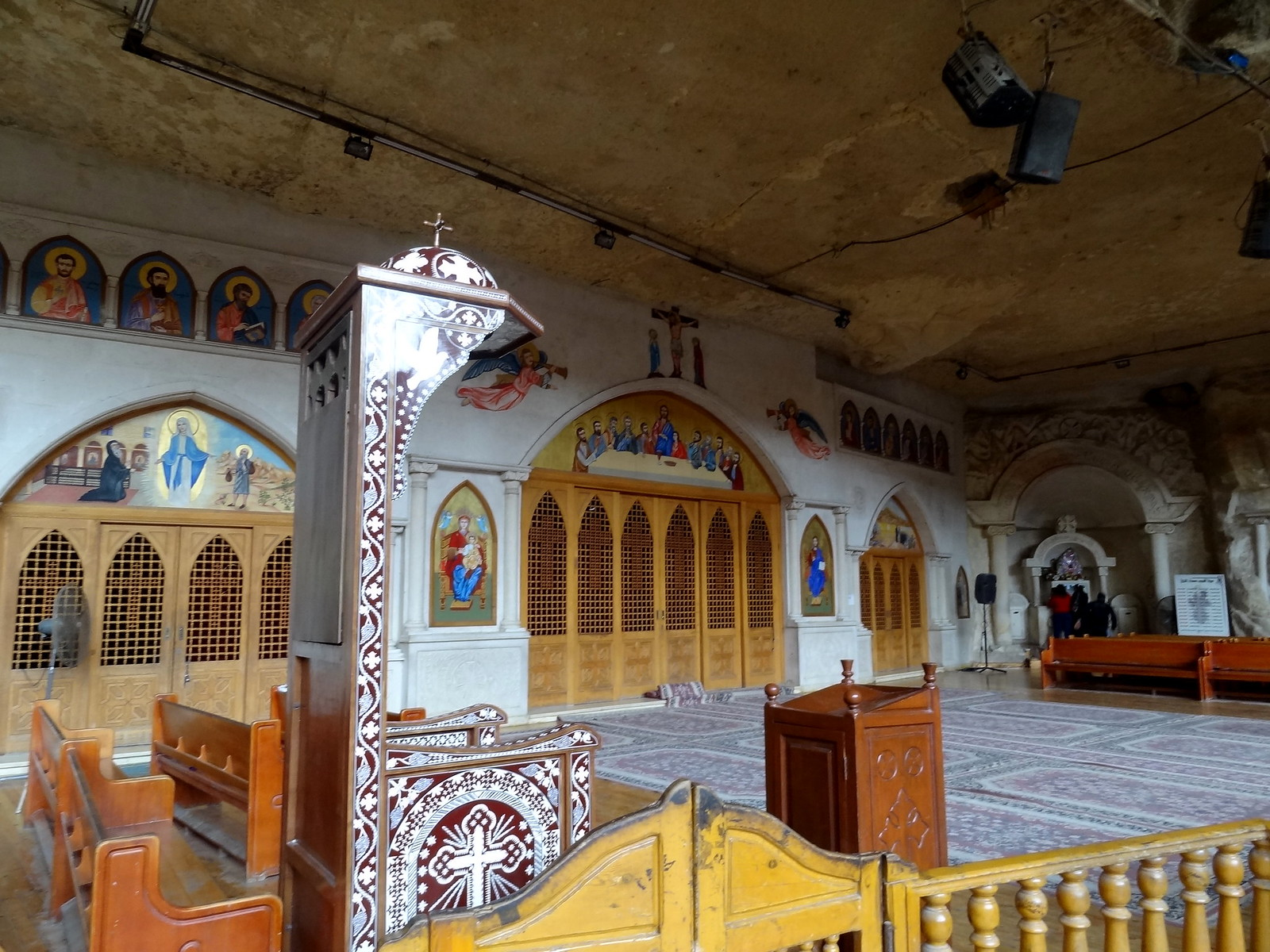 Coptic Cave Church in Mokattam