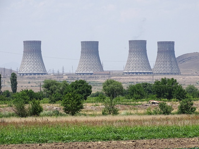 Cooling Towers of Metsamor Nuclear Power Plant - Armenia