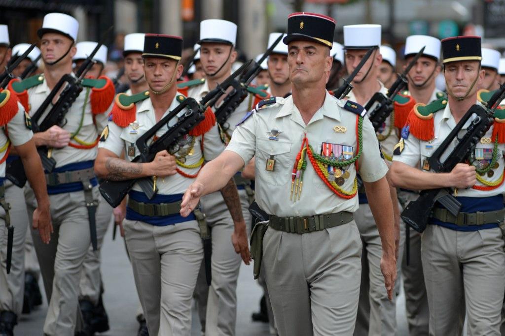 Rencontre des anciens de la Légion étrangère