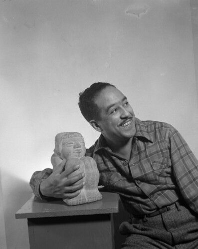 Langston Hughes, author | by US Department of State