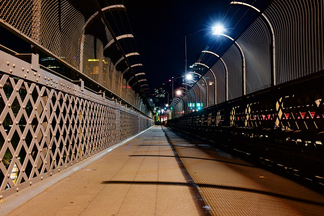 Pedestrian Walkway on Sydney Harbour Bridge