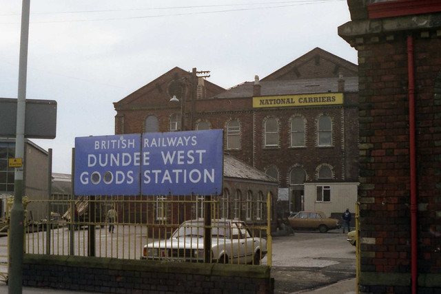 Dundee West goods station, 1983