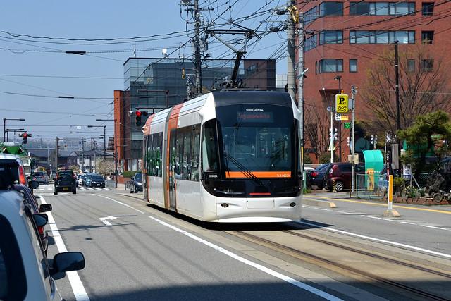 Portram 0602 [Toyama tram]