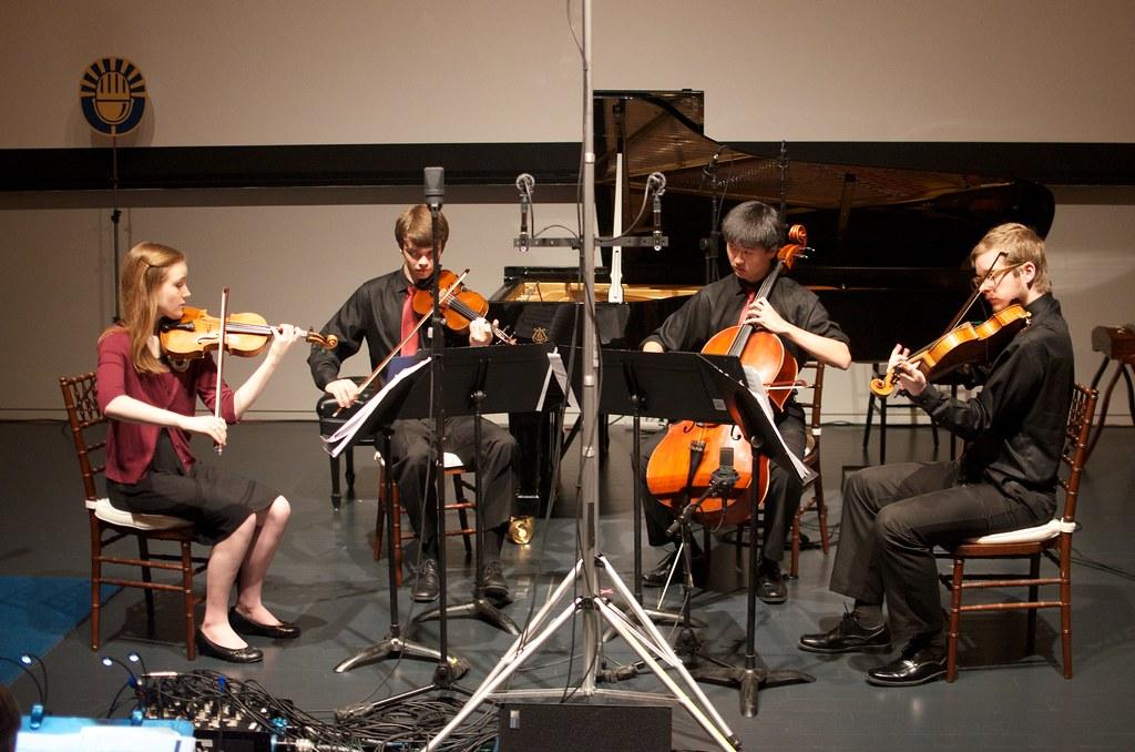 Quartet Fuoco | Chicago-based Quartet Fuoco members (left