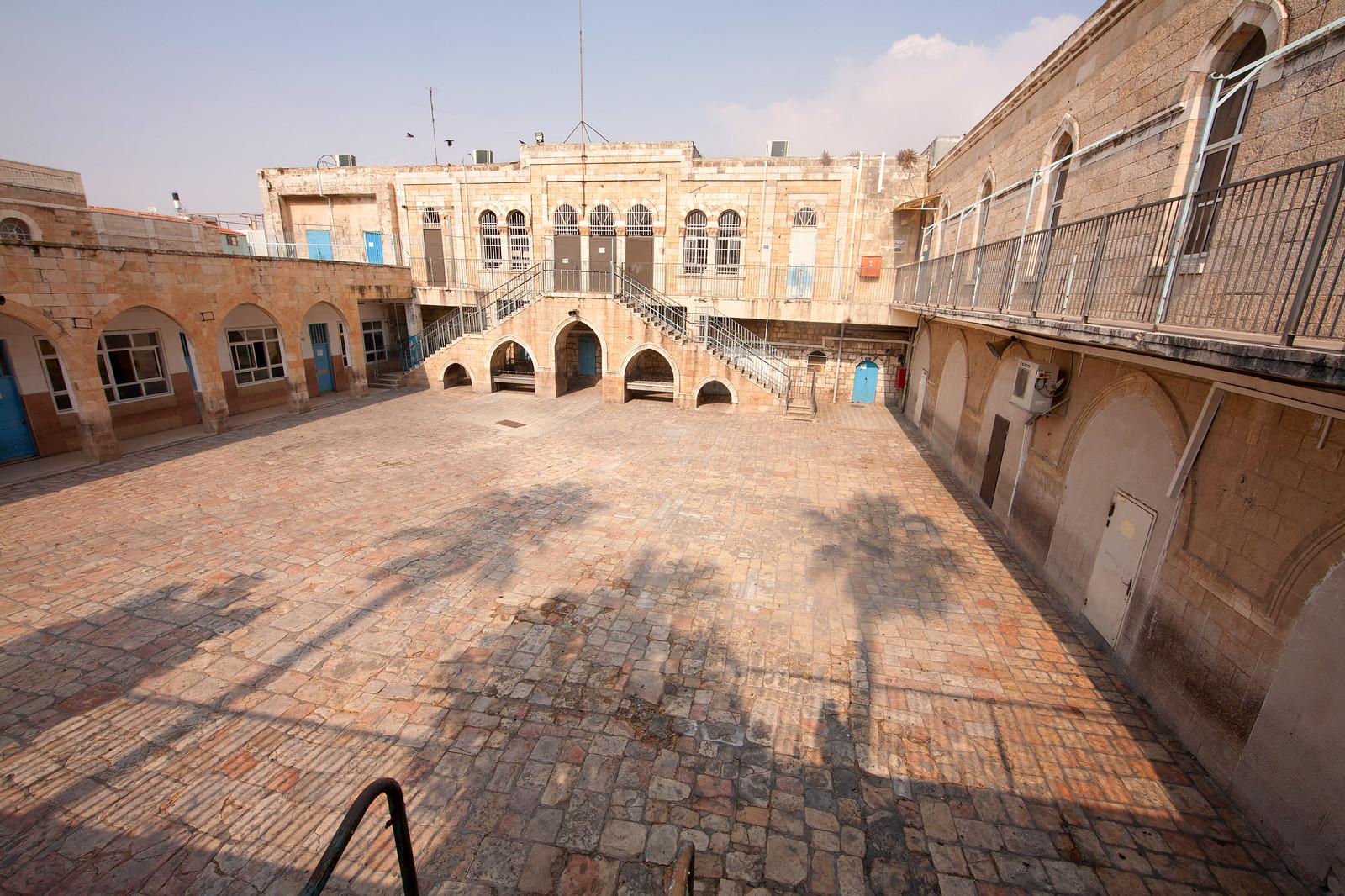Jerusalem_Via Dolorosa_Al Omariya school_Station 1_Noam Chen