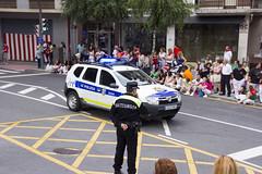 En el desfile de txarangas