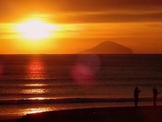 Shirahama Ohama Beach Sunrise | by izunavi