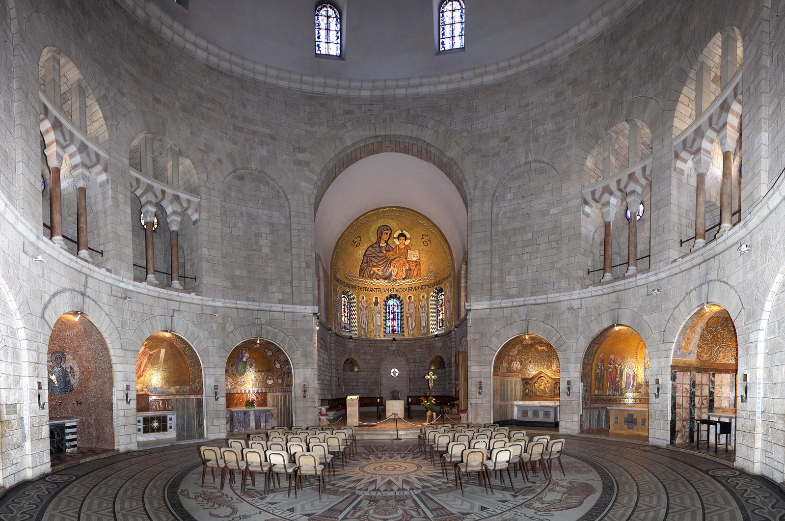 Jerusalem_Dormition Abbey_9_Mordagan_IMOT