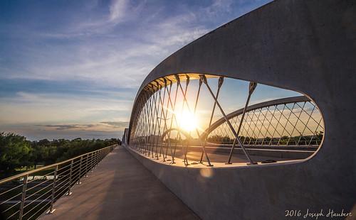 bridge sunset architecture landscape day texas cloudy dfw fortworth sundancesquare 7thstreetbridge west7th fortwortharchitecture fortworthskyline joelburns josephhaubert west7thbridgefortworth w7thbridge