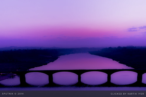 bridge pink india silhouette sunrise river catchycolors landscape dawn purple horizon holy banks daybreak narmada jabalpur pinkoctober tilwara