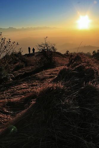 morning nepal sunrise trekking photography valley kathmandu videography