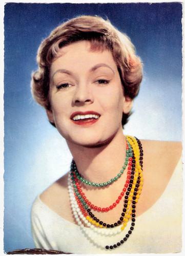 Ruth Leuwerik in Auf Wiedersehen, Franziska! (1957)