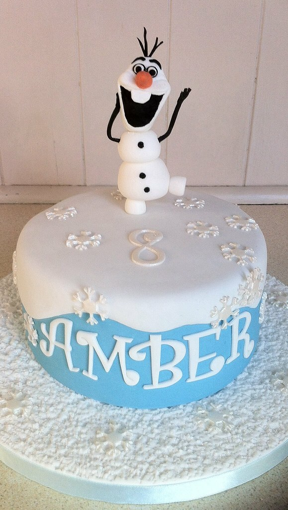 Tremendous Olaf Frozen Cake Mr Crumbs Cakery Wibsey Flickr Personalised Birthday Cards Sponlily Jamesorg