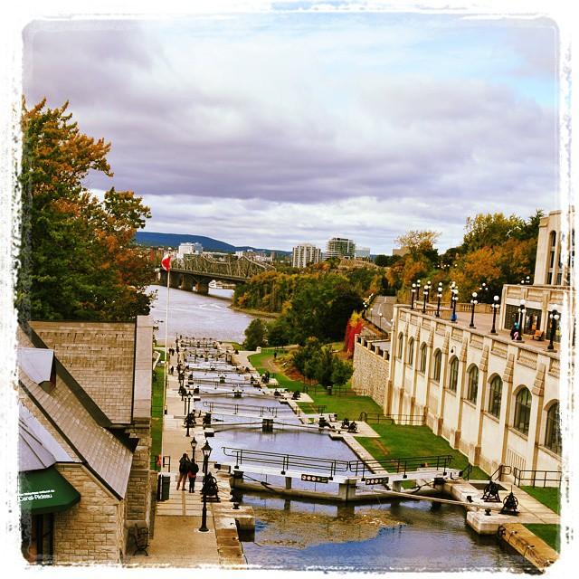 Locks towards #Ottawa river