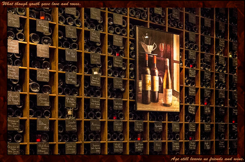 Wall of wine (France through my eyes) | by docoverachiever