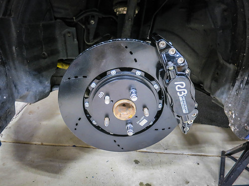 Racing Brakes RB Front Figs BBK Installed | by gold94corolla