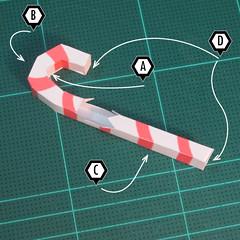 วิธีทำโมเดลกระดาษตุ้กตาคุกกี้รัน คุกกี้ผู้กล้าหาญ แบบที่ 2 (LINE Cookie Run Brave Cookie Papercraft Model Version 2) 014