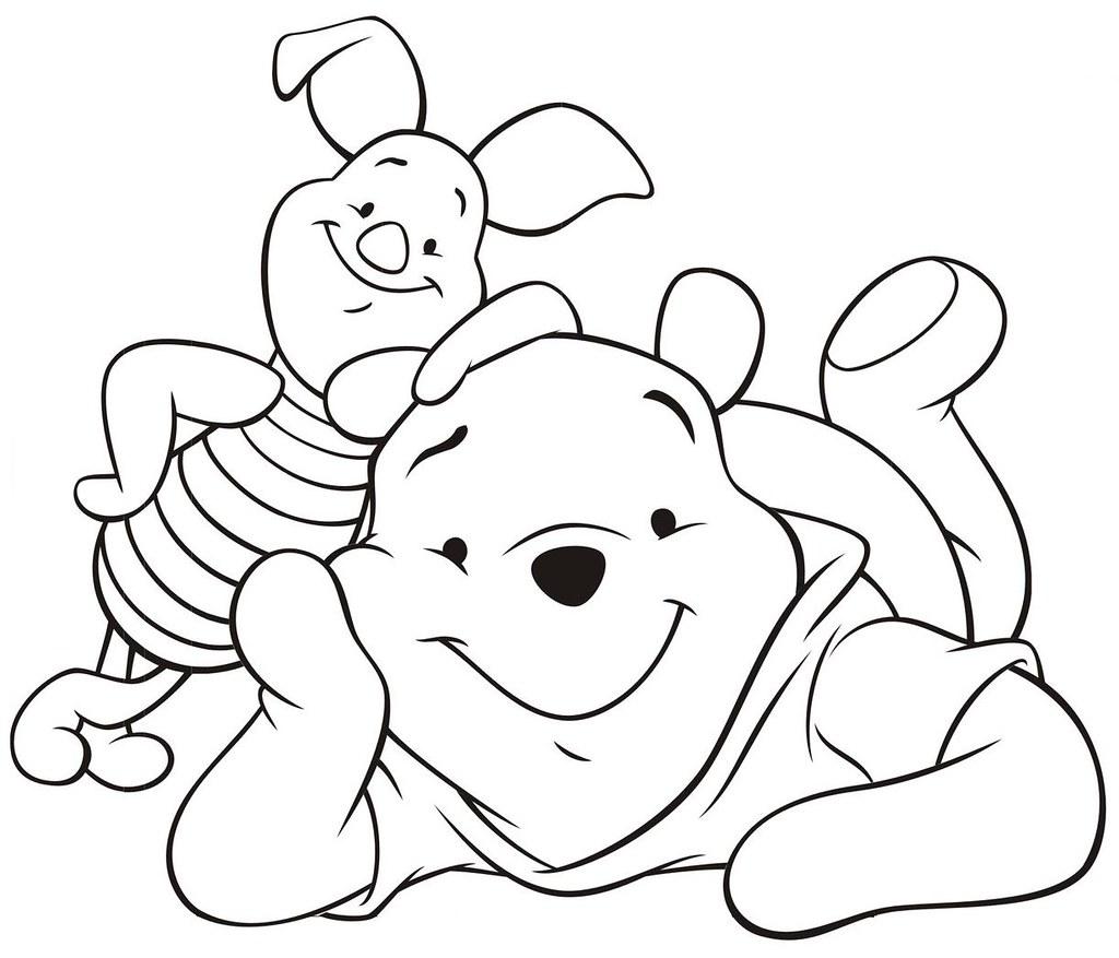 Desenhos para colorir disney ursinho puff desenhos para imprimir e