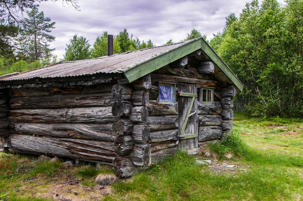 Mountain Cabin Rendalen This Old Cabin Is Free For All T Flickr