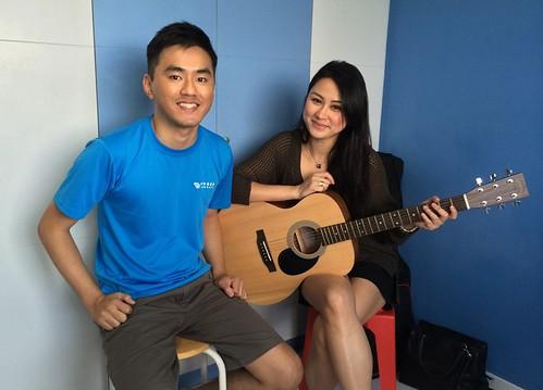 Guitar lessons Singapore Chanel