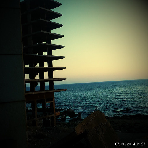 sunset sea summer sky lebanon orange sun water skyline horizon beirut