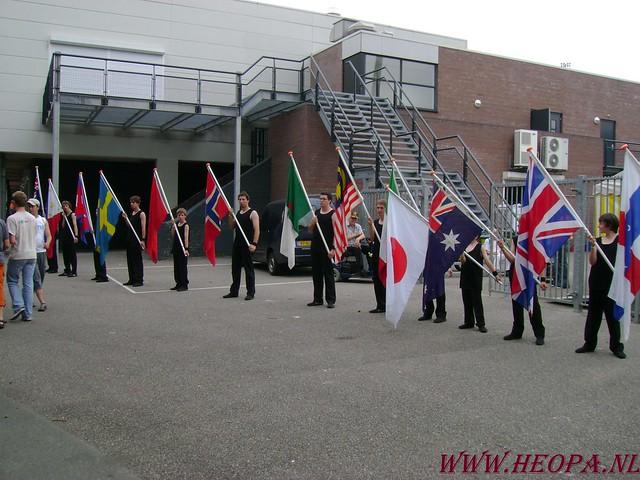2007-07-16 Startbewijs op halen en vlaggen parade. (32)
