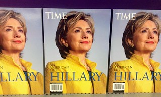 Hillary Clinton Time Cover, 8/2014 | by JeepersMedia