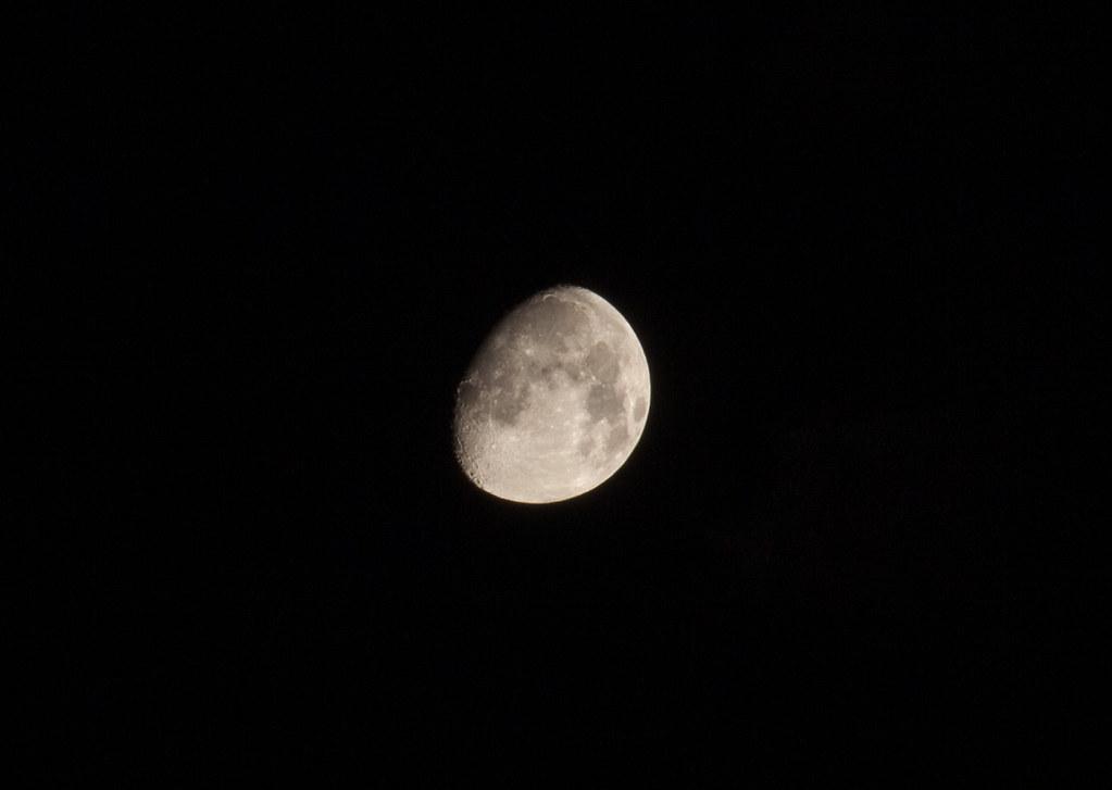 Waxing Moon on Flickr