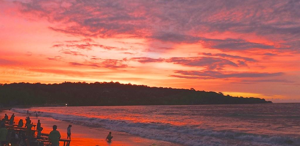 Image result for Jimbaran Bay sunset