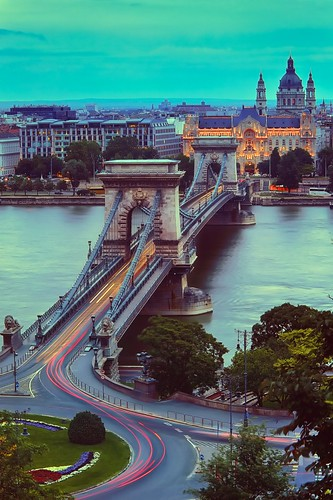 travel blue sunset vacation colors canon river europe hungary budapest east clear hour luis parlament hdr henrique 6d chainbridge danubio országház boucault