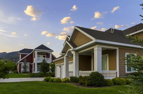 houses summer usa landscape utah ut residential hebervalley 2014 wasatchcounty midwayutah