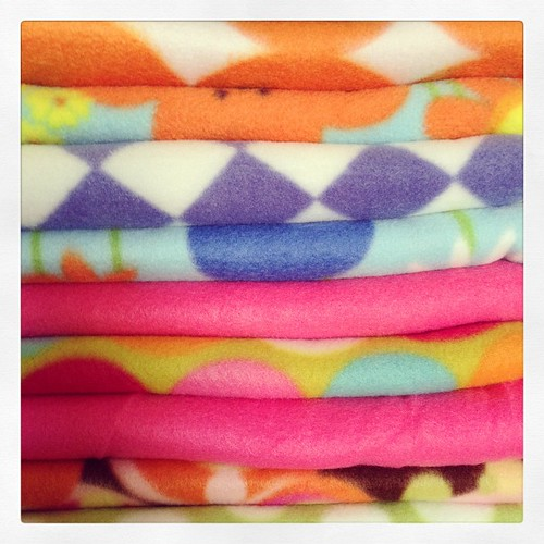#alltheprettycolors #stash #fabric #fleece Labor Day holiday  = extra #sewday for me! | by SεΣ ╤hi∩Gs DiƒFerεNT└y