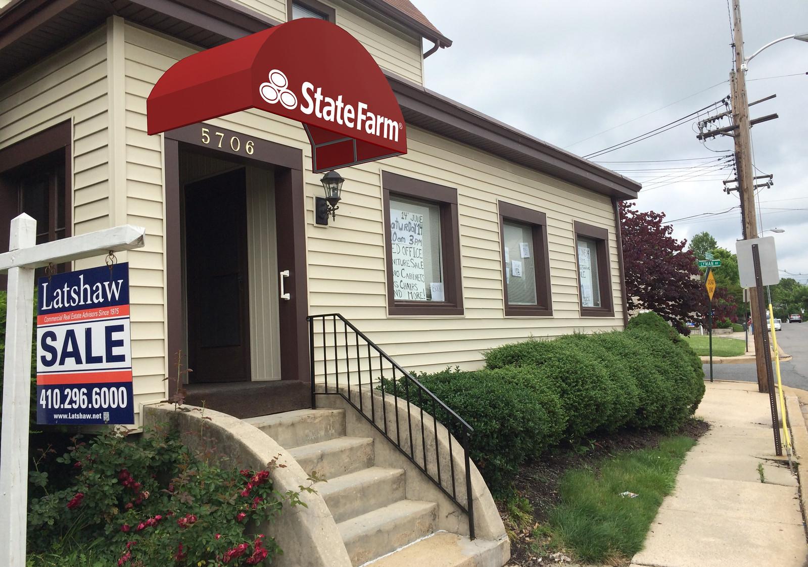 State Farm Awning Rendering