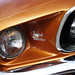 Desktop wallpaper - Orange Mustang