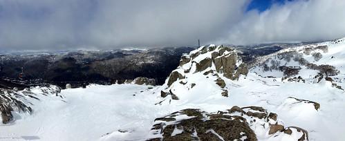 winter mountain snow ski mountains mt australia resort nsw snowboard newsouthwales thredbo kosciuszko