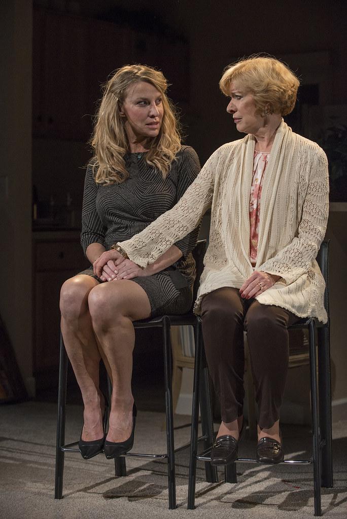 Lusia Strus (Becca) and Linda Kimbrough (Judith)
