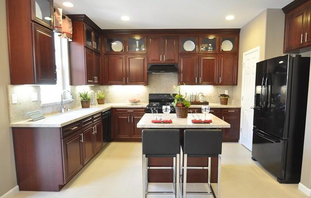 Mahogany Kitchen Cabinets If Y Flickr