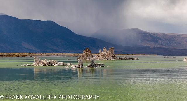 Tufa formations at Mono Lake