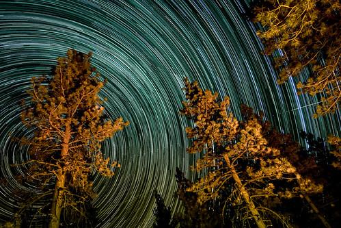 Startrails on Mt Pinos | by ZJChaser