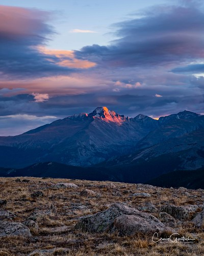 rockymountainnp longspeak mountain landscape nature sunset clouds sky nikon d810