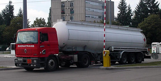 Gca Rhonatrans 3 Truck Renault G340 With Oil Tank Semi T