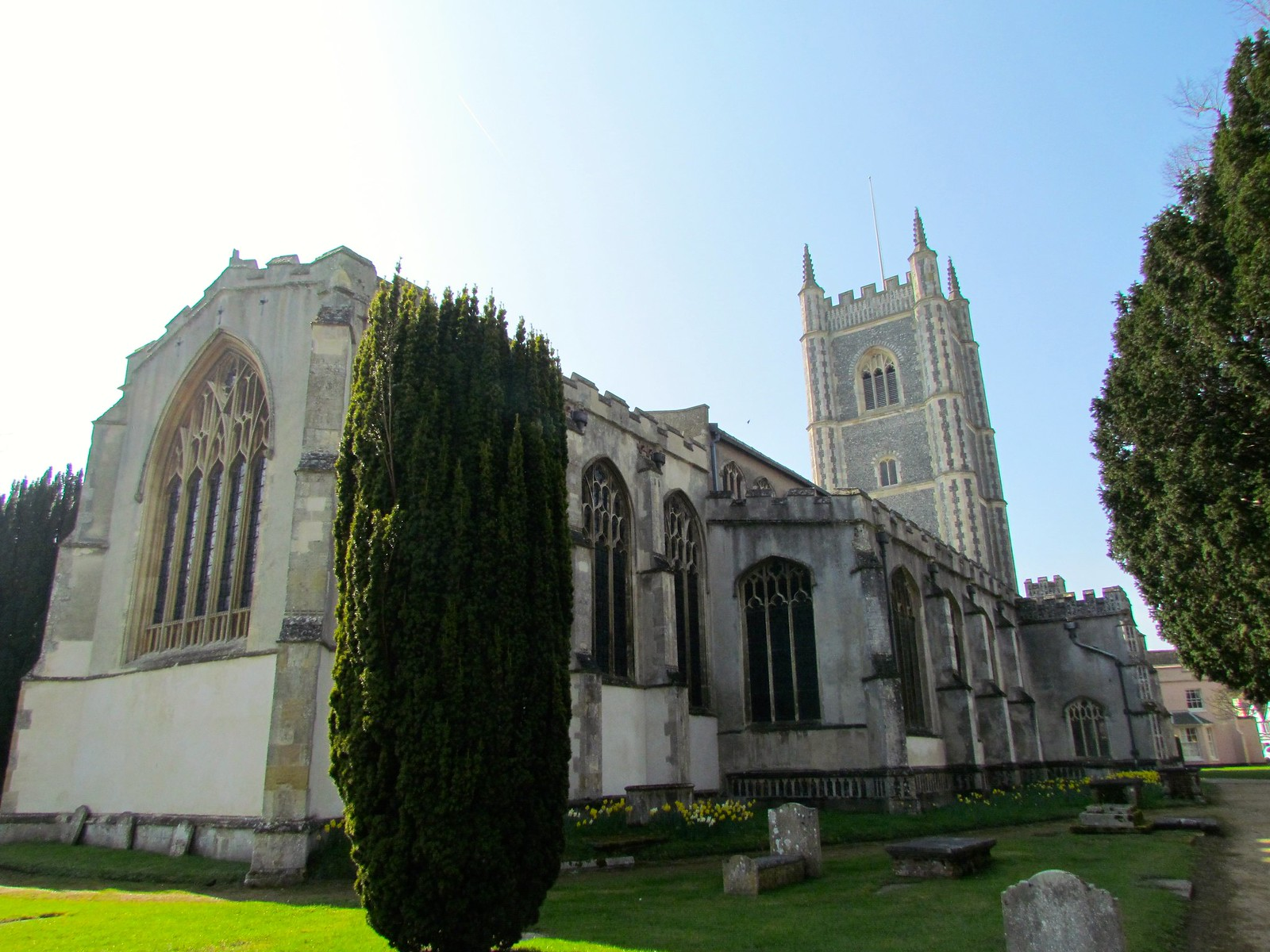 photo from walk Dedham Church