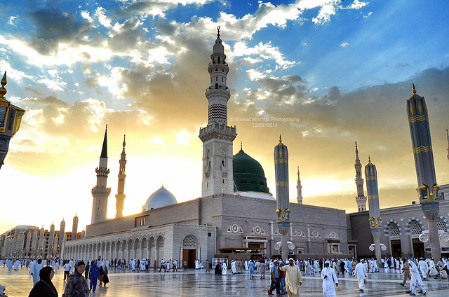 المسجد النبوي في رمضان 1435هـ - Ramadan 1435 A.H. at Al-Masjid al-Nabawi (Prophet's Mosque)