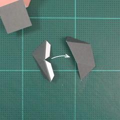 วิธีทำของเล่นโมเดลกระดาษซุปเปอร์แมน (Chibi Superman  Papercraft Model) 009